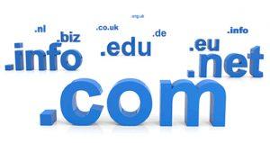 Domain regisztráció .com .net .info