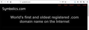 mi a domain, az első domain