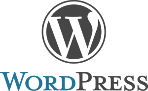 Wordpress weboldal logó